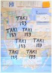TAKI 183 - Marker on NYC Subway Map