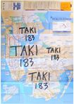 TAKI 183 - Marker on NYC Subway Map 2